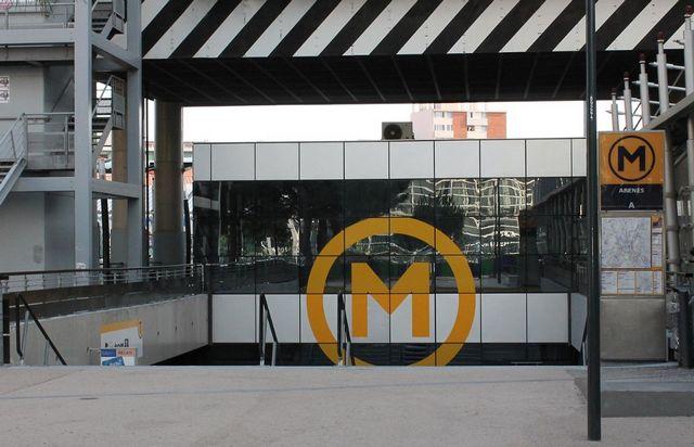 Métro Arènes Toulouse