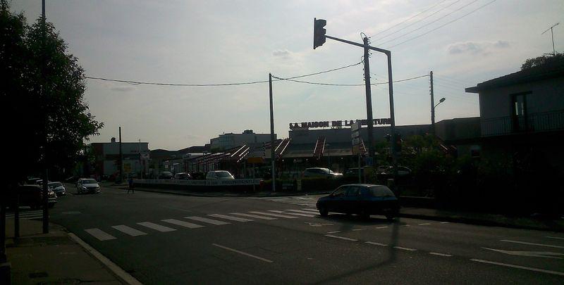 Métro Boulevard de Suisse