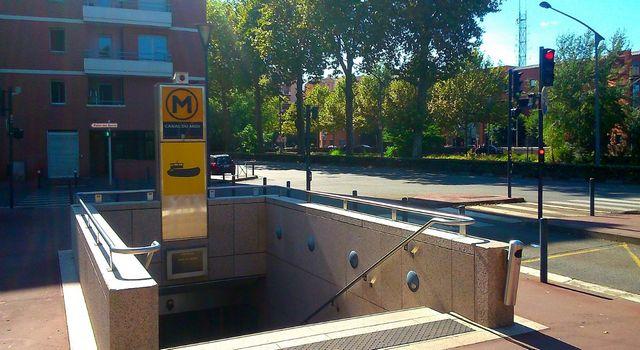 Métro Canal du Midi Toulouse