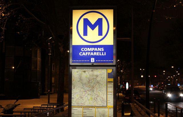 Métro Compans Caffarelli Toulouse