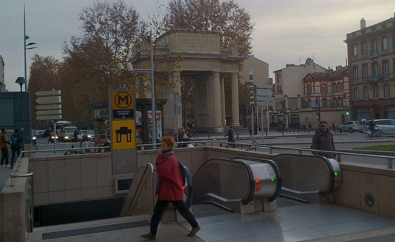 Métro François Verdier