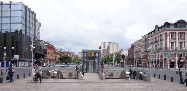 Métro Jean-Jaurès Toulouse