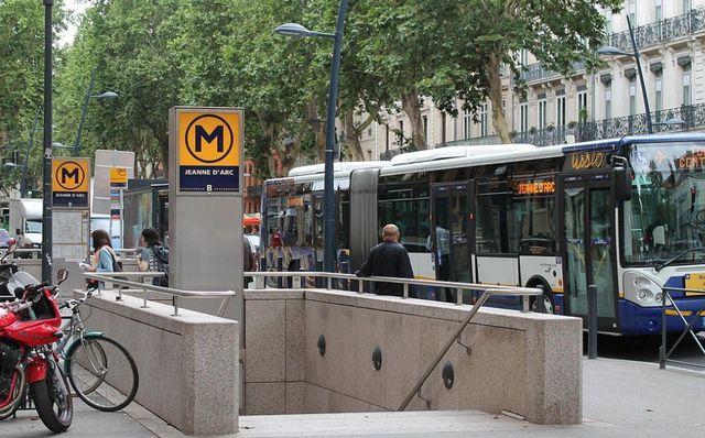 Métro Jeanne d´Arc Toulouse