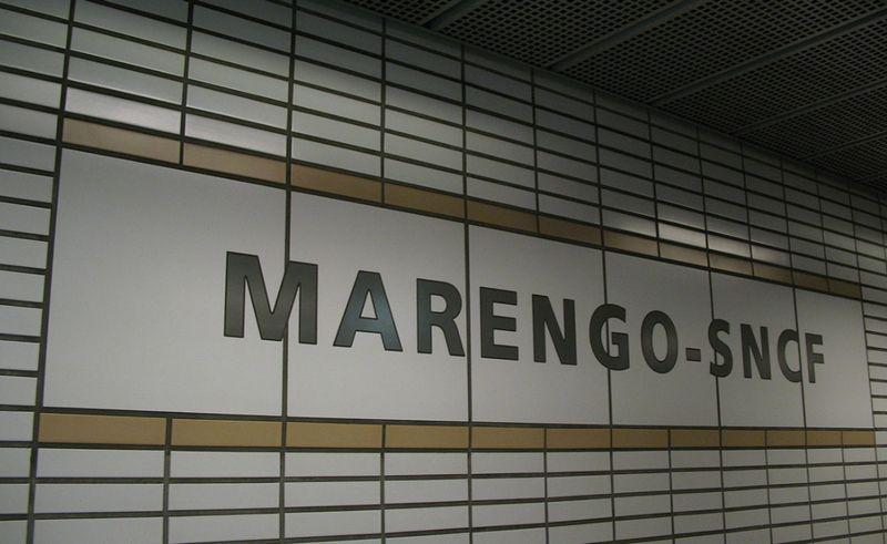 Métro Marengo
