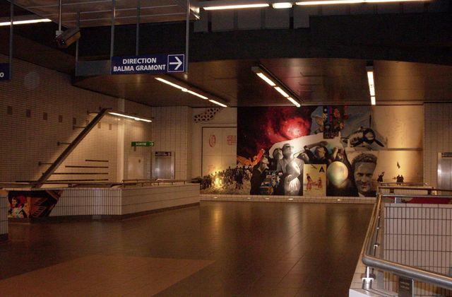 Métro Mermoz Toulouse